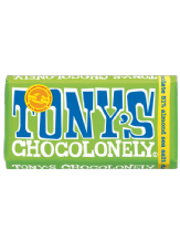 Tony's Chocolonely Dark Chocolate Almond Sea Salt 180g